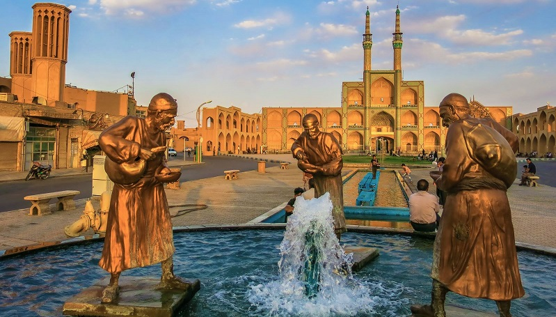Traces of Ancient Merchants in Iran